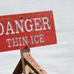 danger - thin ice